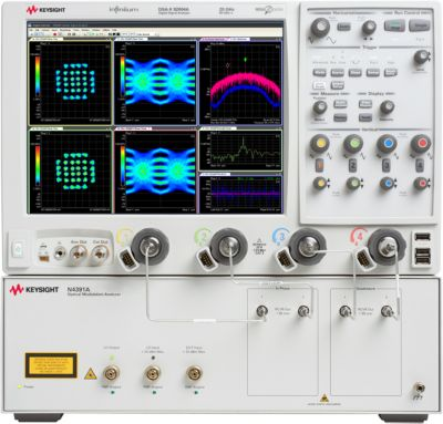 Keysight N4391A Optical Modulation Analyzer / 66 GHz Analysis Span