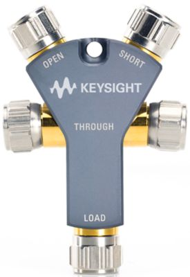 Keysight 85518A Calibration kit, 4-in-1, open, short, load and through, DC to 18 GHz, Type-N(m), 50 ohm