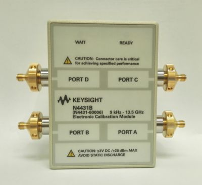 Keysight N4431B-101 Port A Connector is 3.5 mm Female