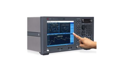 Keysight E5071C-285 2-port Test Set / 100 kHz to 8.5 GHz / With Bias Tees