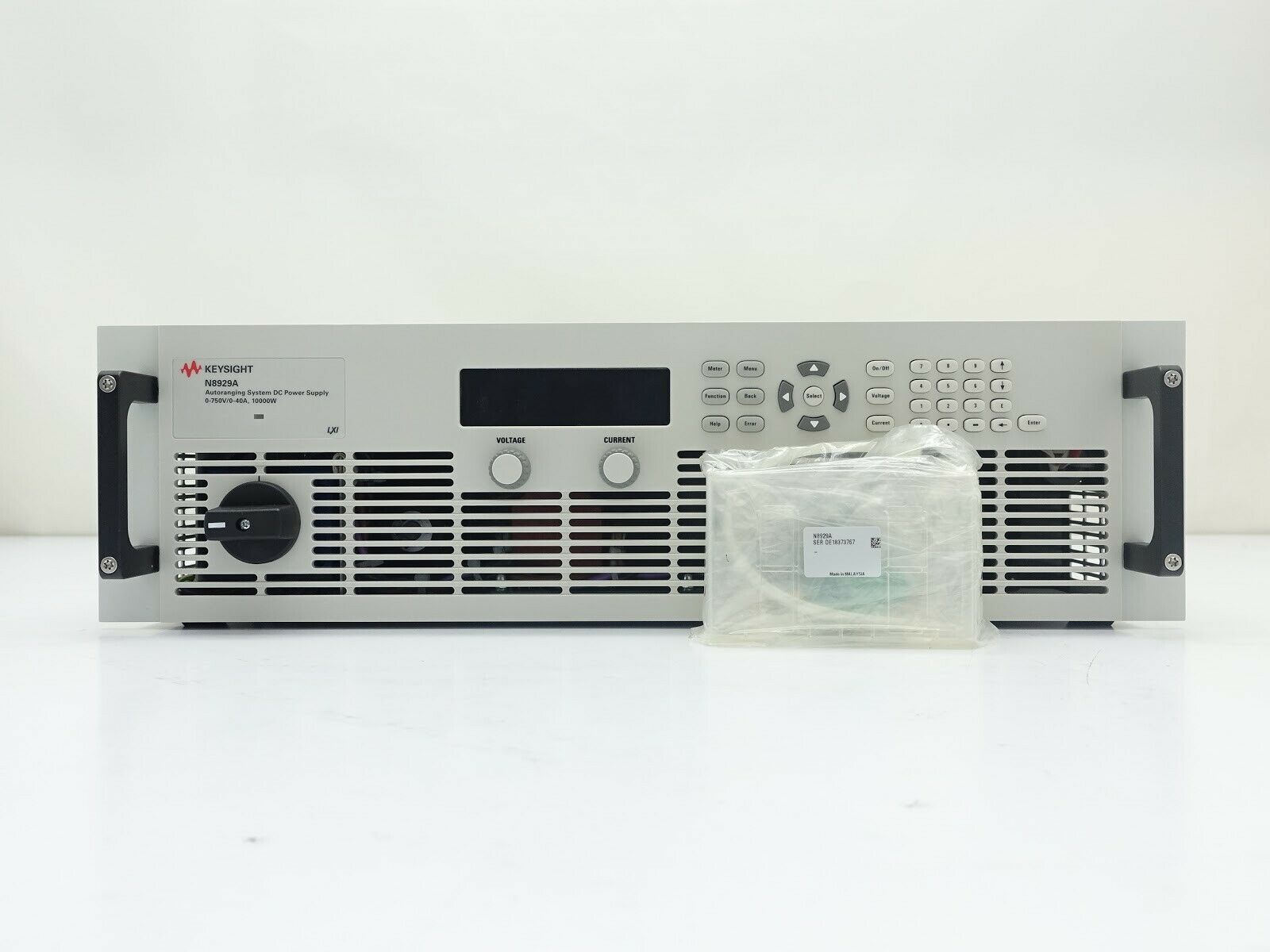Keysight N8929A Autoranging System DC Power Supply / 750V / 40A / 10000W / 208 VAC