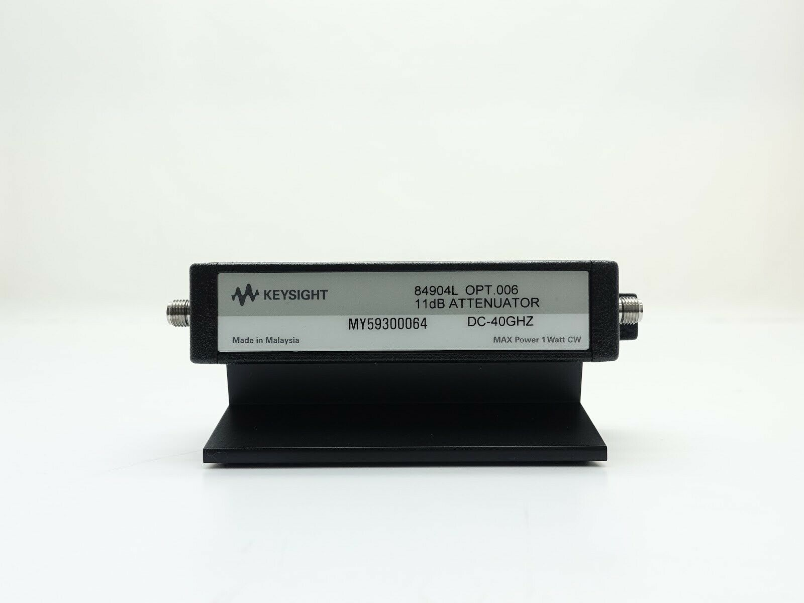 Keysight 84904L Programmable Step Attenuator / DC to 40 GHz / 0 to 11 dB / 1 dB steps